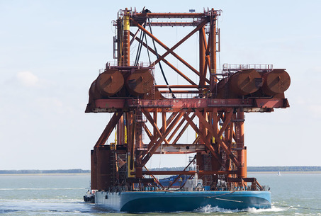 Pioneering Spirit - test frame
