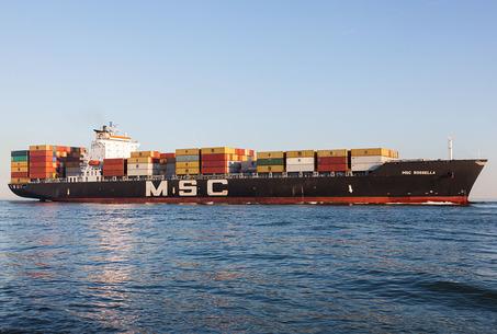 Photo showing MSC ROSSELLA